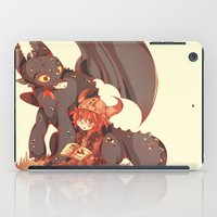 how to train your dragon iPad Cases featuring How to Train your dragon! by SweetOwls