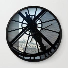 View of Sacre Coeur Wall Clock
