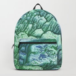 Green monotp Backpack