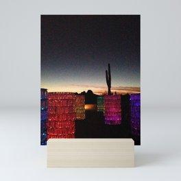 Desert Lights Mini Art Print