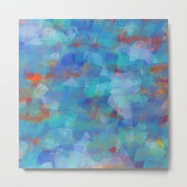 Paint Strokes Two Metal Print