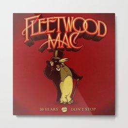 fleetwood red rumours penguin tour 2020 ngaprilio Metal Print