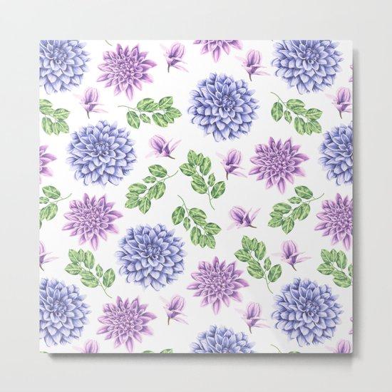 Lavender Garden Metal Print