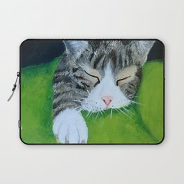 Cat Nap (Lucia) Laptop Sleeve
