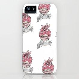 Ice Cream Sundae iPhone Case