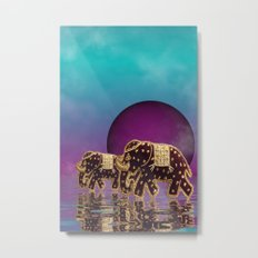 elephant fantasy -2- Metal Print