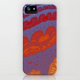 Fractal Ridges iPhone Case