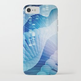 DNA Molecule Helix Science Abstract Background Art iPhone Case