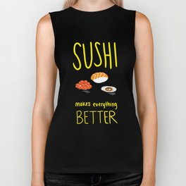 Sushi Lover Biker Tank