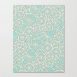 Pastel Wheels #society6 #pattern Canvas Print