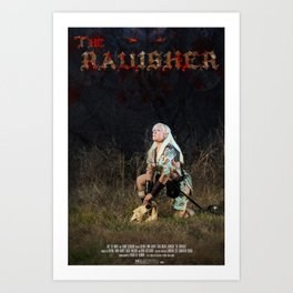 The Ravisher movie poster by Cameron Cox Art Print
