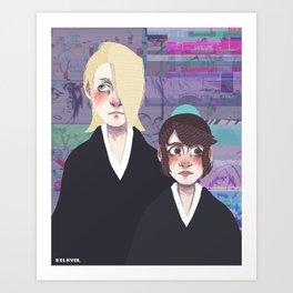 Bleach print 5 Art Print