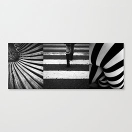 Pattern of obsession Canvas Print