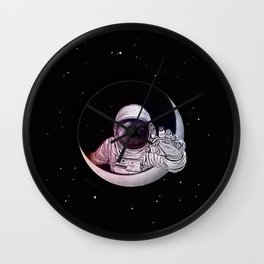 Astronaut Moon Wall Clock