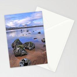 Rocking it on Rannoch Moor; Scottish highlands Stationery Cards