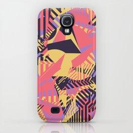 Dazzle Camo #03 - Purple & Yellow iPhone Case