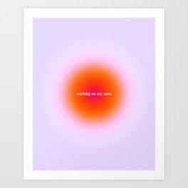 Working On My Aura, SZA Love Galore Art Print