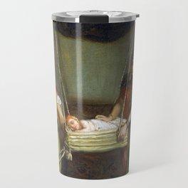 Théodore Chassériau Scene in the Jewish Quarter Travel Mug