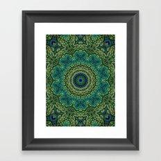Shangri-La Mandala Framed Art Print