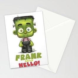 Frank says hello! Stationery Cards