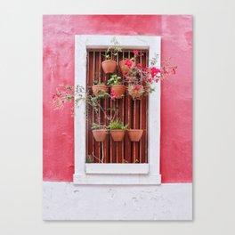 San Juan Windows Canvas Print