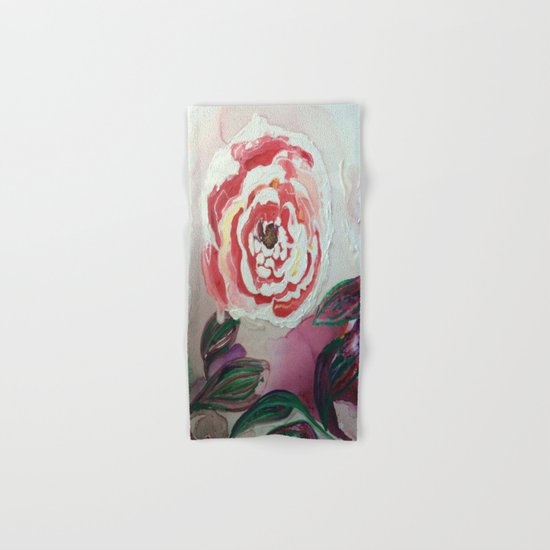 Mother's Day Flowers, Flowers That Will Last Forever Hand & Bath Towel