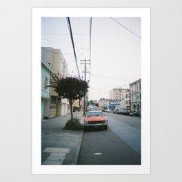 San Francisco Car Art Print