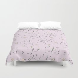 Ballet bands and shoes Duvet Cover