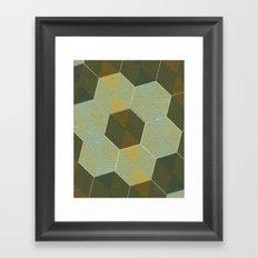 Trendy Tiles II Framed Art Print