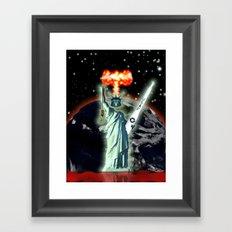 FREEDOOM FOR ALL!!! – 013 Framed Art Print