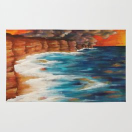 Moroccan Sea Spray Rug