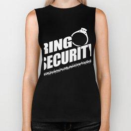 Ring Security - Ring Bearer  Biker Tank