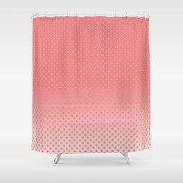 "LES ""DOTS"" ROSE! Shower Curtain"