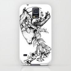 Prehistoric Bloom - The Cat Slim Case Galaxy S5