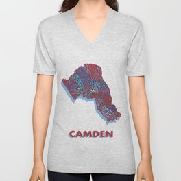 Camden - London Borough Unisex V-Neck