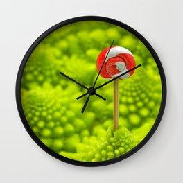 Romanesco Lollipop Wall Clock