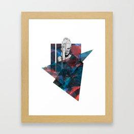 EBD ABSTRACT ILLUSTRATION 1 Framed Art Print