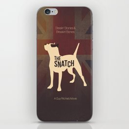The Snatch - Stealin' Stones & Breakin' Bones iPhone Skin