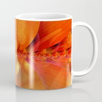 outer space Mugs featuring Outer Space by Christine baessler