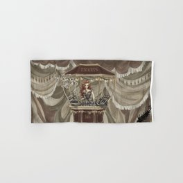 Midnight Circus: tickets Hand & Bath Towel