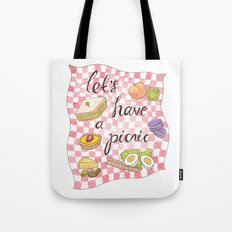 Let's Have A Picnic Tote Bag
