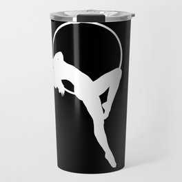 Lyra Aerialist Silhouette Travel Mug