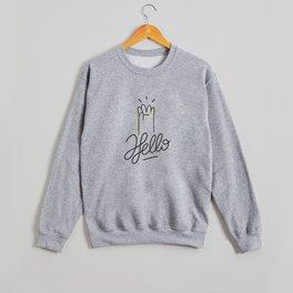 Hello Crewneck Sweatshirt