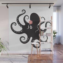 Dancing Octopus-Female Wall Mural