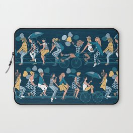 Sisterly riding the world together Laptop Sleeve