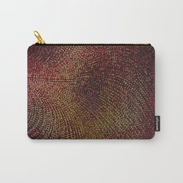 Warm Ruby Mist Carry-All Pouch