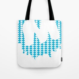 Moulded Triangle / Moulded Rides Tote Bag