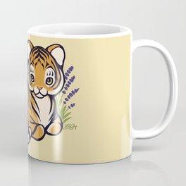 Loafing Tiger, Hidden Platypus Coffee Mug