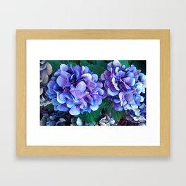 Violet Porch  Framed Art Print