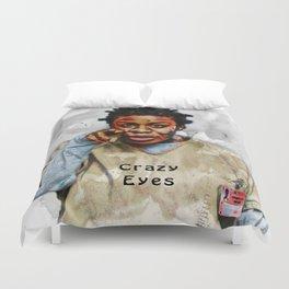 Crazy Eyes Duvet Cover
